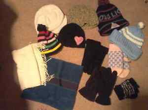 Mitts, hats and scarves....all for $8