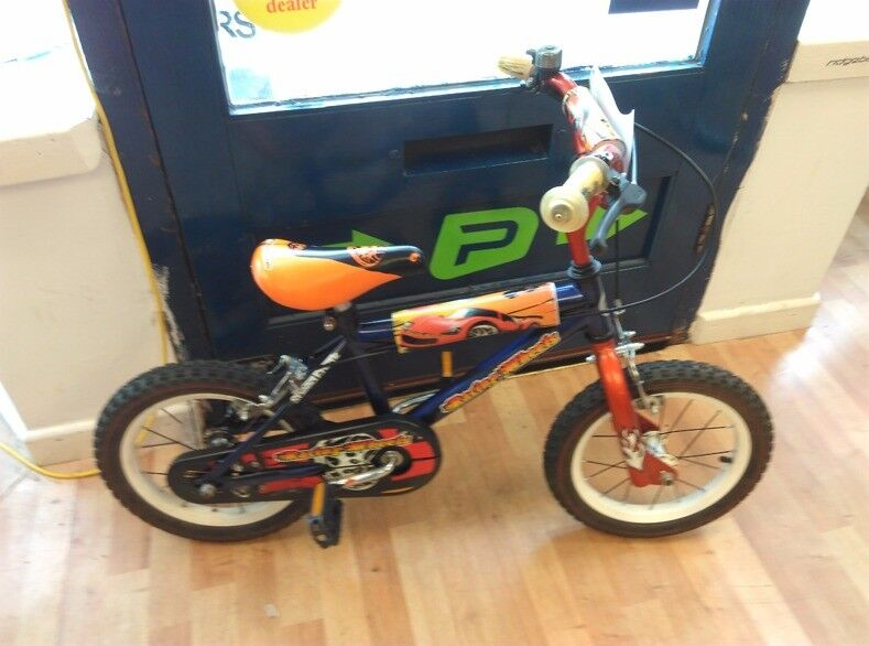 """Racing wheels 16"""" kids bike great condition single speed fully working no problems"""