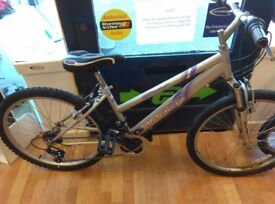 """Ammaco Star 26"""" wheels small 16"""" frame new seat just fitted cycle bicycle working order"""