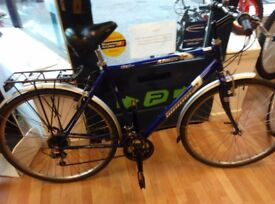 Ammaco City hybrid bike large 21inch frame, 700c alloy wheels, full mudguards cycle bicycle
