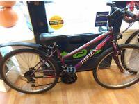 "Ladies mountain bike Reflex purple 17"" frame rear mudguard 26"" wheel cycle bicycle"