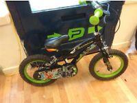 Ben ten 14inch wheel boys bike working order few scuffs will suit rider 3-4 years age