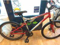Apollo XC26 19inch Full suspension mountain bike front disc brake cycle bicycle