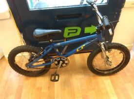 GT Bmx style 16inch wheels new grips just fitted fully working fine skate park bike strong