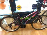 "Ladies mountain bike Reflex purple 17"" frame rear mudguard 26"" wheel, full working"