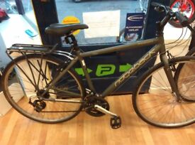 """Ridgeback Motion 18"""" Frame Alloy frame and wheels 24 speed thumb shifters gears hybrid lightweight"""