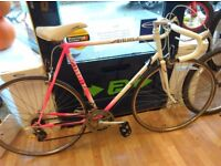 """Raleigh Mercury XL bike Frame 23"""" fully working drop shifter gears, new bar tape and gear cable"""
