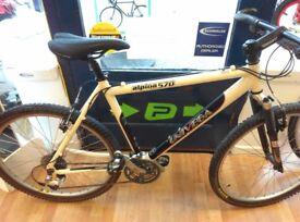 Univega mountain bike high spec retro mountain bike lx and xt shimano parts fully working order