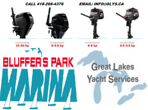 MERCURY OUTBOARDS 2.5-9.9HP STARTING $771+HST & BATTERIES