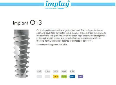 Dental Implant X 15 Pcs Fda Approved  High Quality  Low Price