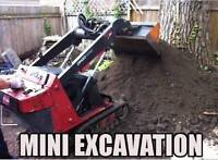 $220 for the weekend - Mini excavation -Weekend!!