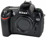 Nikon COOLPIX D70 6.1 MP Digital SLR Camera - Black (Body Only)