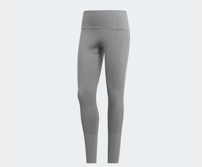 ADIDAS PANTALONE TUTA LEGGINGS LEGGINS DONNA CV8427 GRIGIO GREY NERO TIGHTS COLL