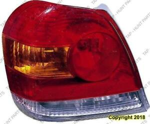Tail Light Passenger Side Sedan/Coupe High Quality Toyota Echo 2003-2005