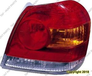 Tail Light Driver Side Sedan/Coupe High Quality Toyota Echo 2003-2005