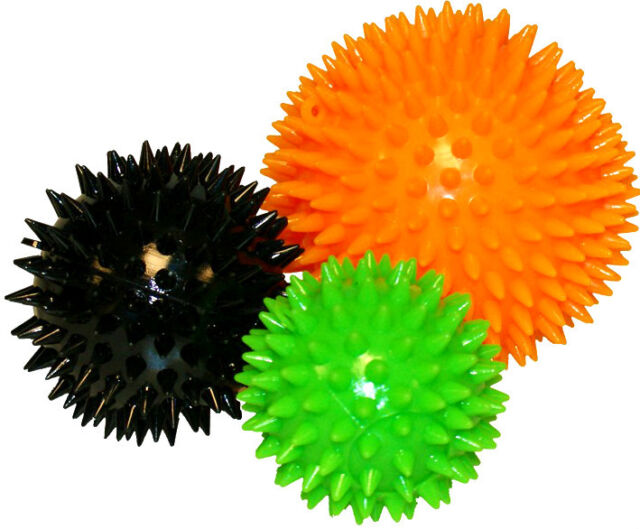 Massage Balls Set of 3 Massage Ball Spiky Massage Balls Spikey Balls Spiky Balls
