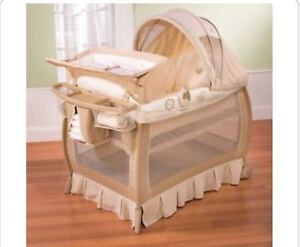 2in1 playben and bassinet