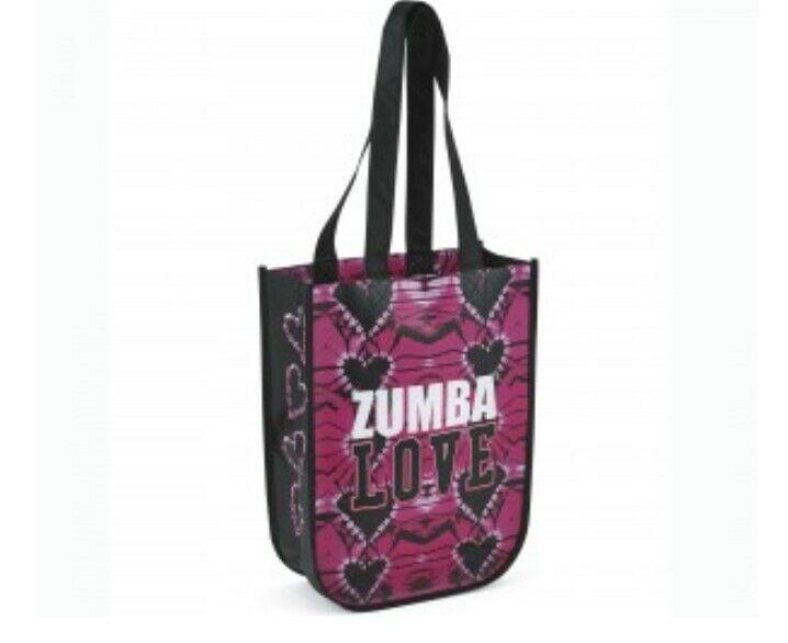 Pink Zumba Love bag