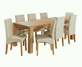 8 seater extendable table nearly new