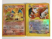 Charizard and other pokemon cards