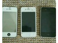 Apple iPhone 4s x2 iphone 4