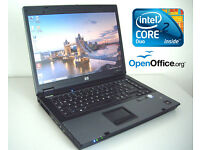 """Excellent Condition Full Working Order - HP Laptop 15.4"""" - LaptopBag - Intel 2.1Ghz - Internet ready"""