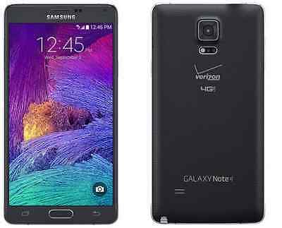 Samsung Galaxy Note 4 Sm N910v  Verizon Unlocked Smartphone Cell Phone Page Plus