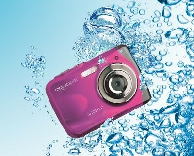 Easypix W1024 splash Unterwasserkamera Camcorder - pink / 10MP / 3m / 2.4 TFT ()