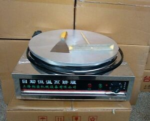 Countertop Material For Commercial Kitchen : Details about Brand New Commercial Kitchen Countertop Crepe Maker ...