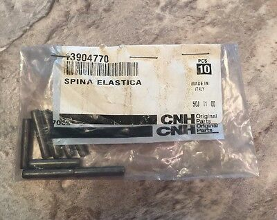 Case New Holland Cnh - Oem - Nos - Roll Pin - Pn 13904770 - 8 Pack