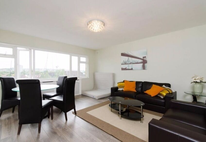 Well Presented Three Bedroom Flat Willesden NW6
