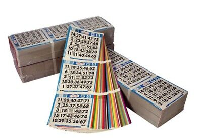 Bingo Game Cards (Bingo Paper Cards Sheets 3on 5up 250 Packs/Books 3750 Faces  FREE 2Day)