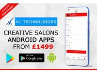 IPHONE ANDROID MOBILE APPS FOR BEAUTY SALON MASSAGE PARLOUR NAIL STUDIO APP DEVELOPER DESIGNER VIDEO