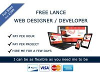 Free Lance Web Developer / Designer Based in Liverpool - PHP - MYSQL - Magento - Wordpress
