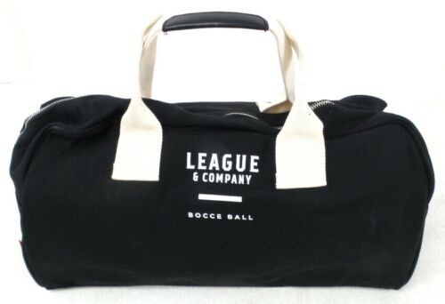League & Company Bocce Ball Set With Carrying Bag & Ball Platform