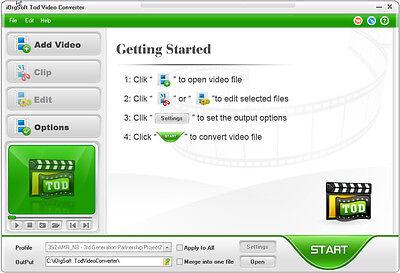 iOrgSoft Tod Converter Convert TOD videos to MP4, AVI,WMV, MOV,FLV Flv Video Converter
