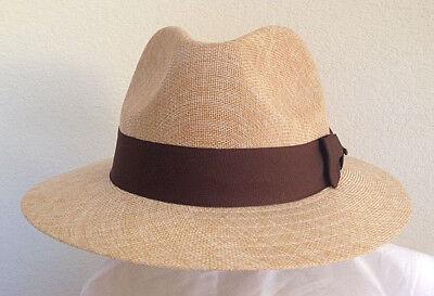 Golf Fedora (STETSON SALE * NEW MENS FEDORA HAT * SUMMER SAFARI GOLF SUN SHADY PANAMA STYLE)