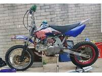 Ghost 125cc manual pit bike (NOT STOMP M2R DEMON X KTM KX CRF, 50cc, 90cc, 110cc, 140cc, 160cc)