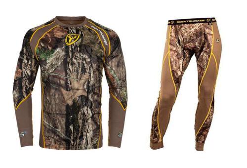 Scent Blocker 1.5 Performance Layer Shirt & Pant Mossy Oak Country Size Medium