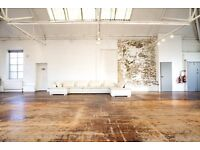 Brand New Art Space / Office available to rent in East London with all bills included.