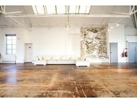 New Art Space / Office available to rent in East London.