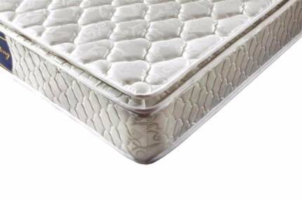 Single Pillowtop Mattress NEW, medium feel, guest bedroom, girl, Forest Lake Brisbane South West Preview