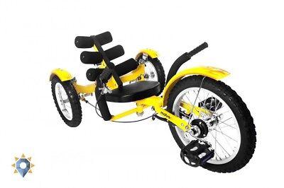 Kids Tricycle Lowrider Trike 3-Wheeled Cruiser Recumbent Folding Bike Men Women