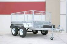 BRAND NEW TANDEM 8*5 GALVANIZED BOX CAGE TRAILER Fairfield East Fairfield Area Preview