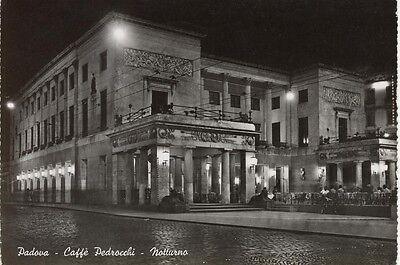 PADOVA CAFFE' PEDROCCHI NOTTURNO VIAGGIATA 1963