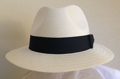 Golf Fedora (STETSON SALE ** MENS IVORY FEDORA HAT ** NEW SAFARI SUN SHADY PANAMA STYLE GOLF)