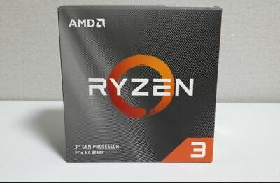[AMD] Ryzen 3 3300X Matisse 4Core 8Thread 3.8~4.3GHz 7nm DDR4 65W CPU Processor!