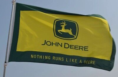 Large Flag John Deere Flag  Banner Digital Printing--John Deere Flag...