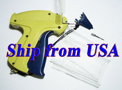 Clothing Garment Price Label Tag Tagging Gun 1 Extra Needle 2 1000 Barbs