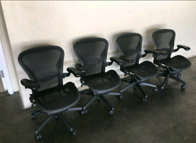 Herman miller aeron size B fully loaded free delivery today